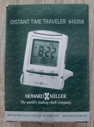 Howard Miller Distant Time Traveler Table Clock 645-358 – Portable Alarm Clock