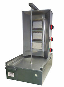DONER KEBAB MACHINE 3 BURNER Gas