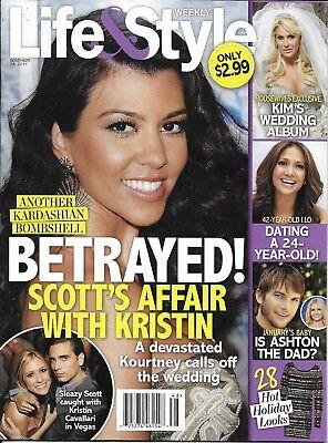 Life And Style Celebrity Magazine Kourtney Kardashian Jennifer Lopez Kim Zolciak
