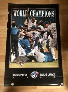 1992 Toronto Blue Jays Champions collectable photos