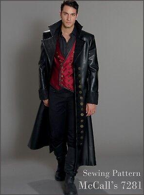 M7821 Mccall S 7821 Nähen Muster Herren Kostüm - Herren Kostüm Nähen Muster