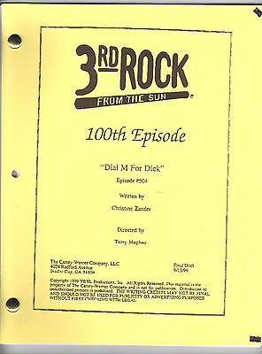 3RD ROCK FROM THE SUN show script