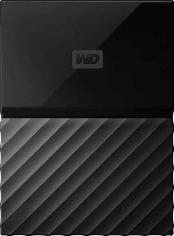 WD - My Passport 5TB External USB 3.0 Portable Hard Drive - Black