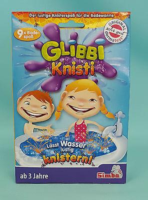 Glibbi Knisti 9 Anwendungen Kinder Badespaß Pulver OVP  Badewanne Simba Wanne