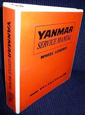 Yanmar V3-5v4-5 V4-5hlus Wheel Loader Service Manual Wbinder