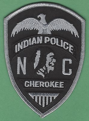 CHEROKEE NATION NORTH CAROLINA TRIBAL POLICE TACTICAL PATCH