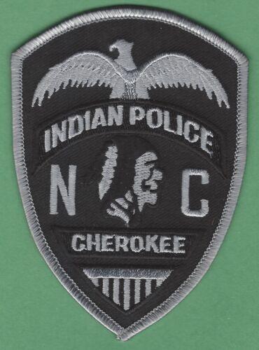 CHEROKEE NATION NORTH CAROLINA TRIBAL POLICE TACTICAL SHOULDER PATCH