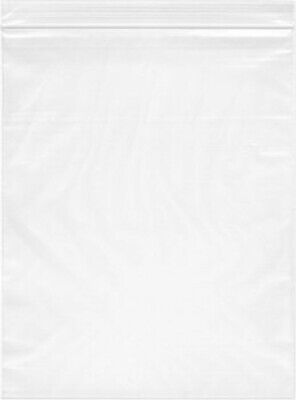 1000- 10x13 Zip Lock 2 Mil Reclosable Resealable Clear Ziplock Plastic Poly Bags