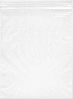 1000- 10x13 Zip Lock 2 Mil Reclosable Resealable Clear Ziplock Plastic Poly Bags