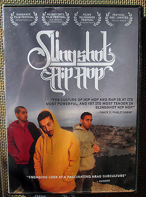 SLINGSHOT HIP HOP DVD 711574659722 Palestinian ARAB Rap w/ New Footage LNC RARE