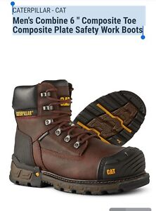 CAT Men's Safety Work Boots 10.5