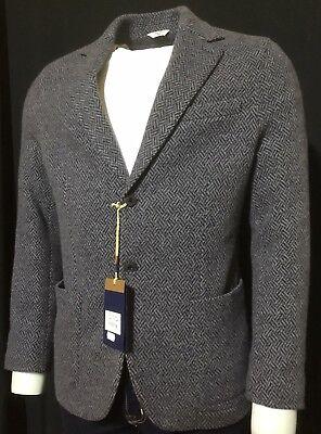CIRCOLO 1901 Size 40R UK (50 EU) Soft Grey Wool/Cashmere Blazer/Jacket RRP £479