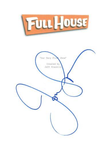 John Stamos Signed Autographed FULL HOUSE Pilot Episode Script COA
