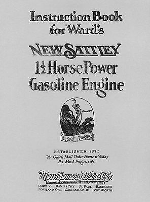 Ward's New Sattley 1½ HP  Engine Instruction Book