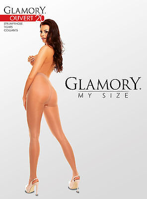 Glamory Overt Schritt offene Strumpfhose bis große Größe 62 4XL 9cm offen 50129