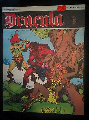 DRACULA Vol1 #11 - New English Library - Horror 1971