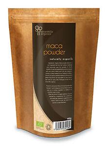 Sevenhills Organic Maca Powder 500g, Soil Association certified