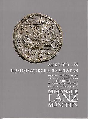 LANZ AUKTION 149 Katalog 2010 Antike Mittelalter Neuzeit Völkerwanderung ~