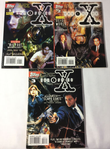 Topps Comics X-FILES DIGEST #1 2 3 ~ FULL SET