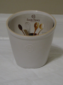 NEW Emile Henry Utensil Caddy-(Flour White)