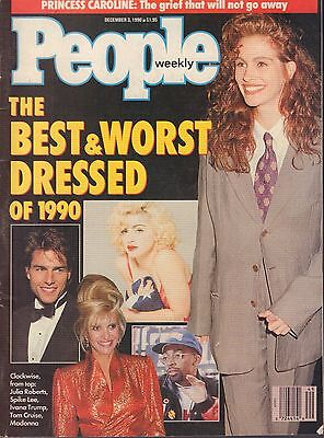 People Weekly December 3 1990 Ivana Trump  Madonna  Tom Cruise 082517Dbe