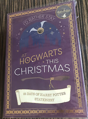 Harry Potter 25 day Stationery Advent Calendar Brand New in Packaging