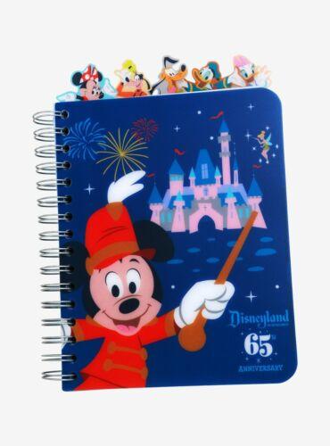 Disneyland 65th Anniversary Tabbed Journal, NEW