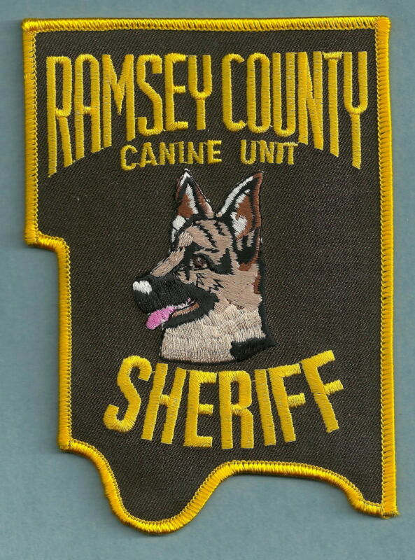 RAMSEY COUNTY SHERIFF MINNESOTA K-9 UNIT SHOULDER PATCH