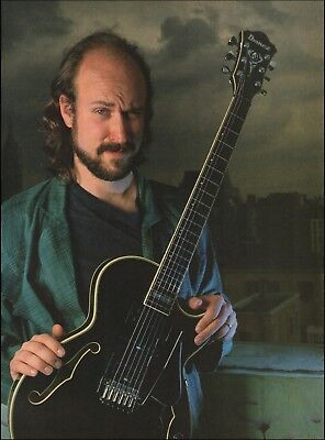 John Scofield Ibanez AS180 Black guitar 8 x 11 Jazz pin-up photo for sale  Flint