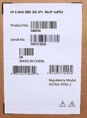 Panduit QD0B1L2BN0861 Monitored Rack PDU L6-30P 30A 208V 6x C13 2x C19