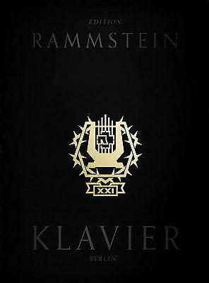 Rammstein XXI Notenbuch Klavier - inklusive CD Songbook