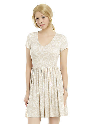 ABC Disney Once Upon a Time Emma Swan & Hook Relationship Dress XS-2X Hot Topic  - Once Upon A Time Dresses