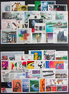 Купить Germany Complete Year 2000 Stamp Set + C/Ds & Sheet Singles MNH German Stamps