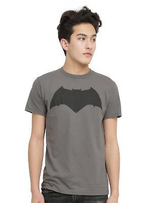 Batman Logo Shirt - DC Comics Mens Batman vs Superman Dawn of Justice Bat Logo Shirt NWT S, M, L, XL