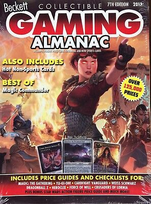 2017 Beckett Gaming Almanac Price Guide #7 $29.95 cover price