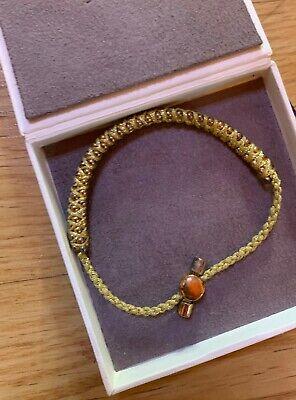 Monica Vinader green lime friendship bracelet