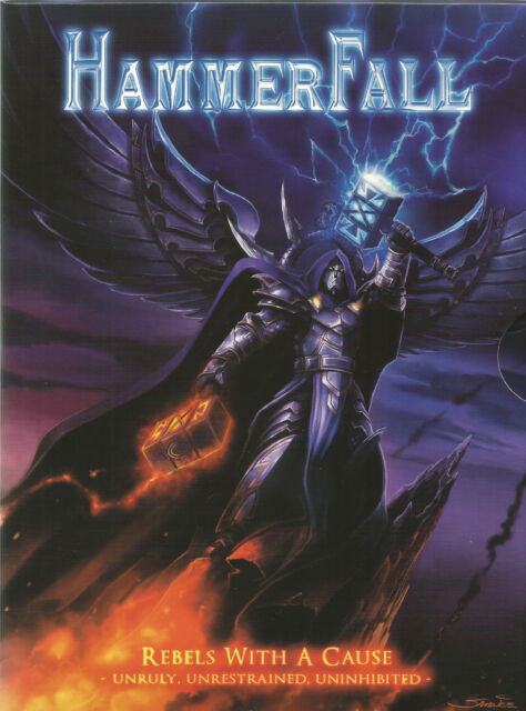 HAMMERFALL  -  REBELS WITH A CAUSE.  / DVD/CD SPECIAL EDITION. ( SABATON , CANS)