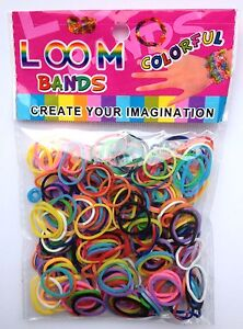 600-COLOURFUL-GLITTER-GLOW-RAINBOW-LOOM-RUBBER-BANDS-BRACELET-MAKING-PARTY-BAG