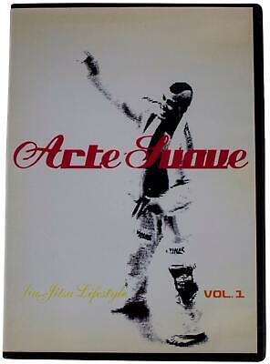 ARTE SUAVE Vol. 1 DVD Brazilian Jiu Jitsu BJJ Techniques Training Highlights Etc