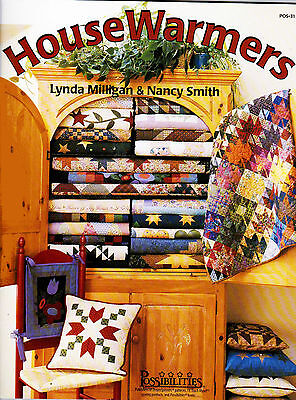House Warmer  Stars Heart Trees & Love + Beautiful Designs Quilting Pattern Book