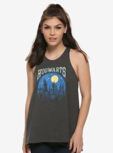 """Harry Potter Hogwarts Women's Tank Top """"Nightscape"""",Reduced $4 ,new,tags,Large"""