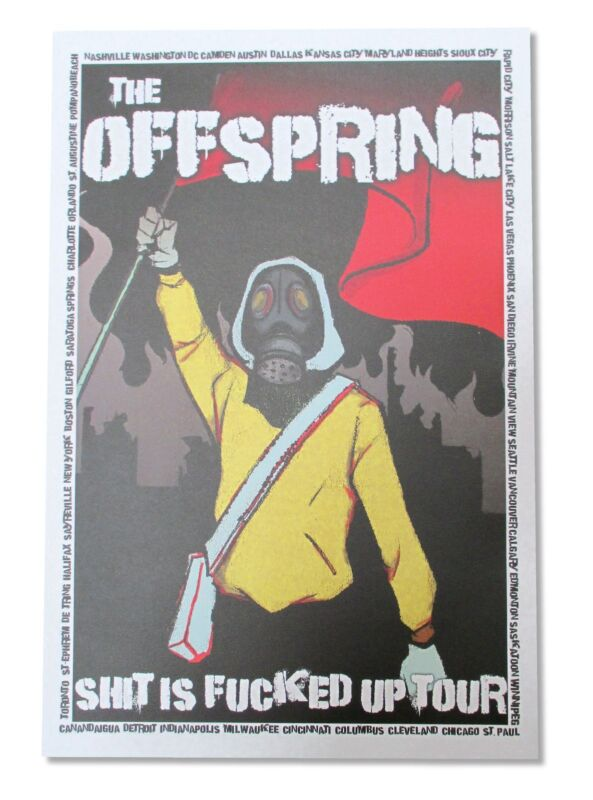 Offspring Liberty Wall Poster New Official Band Music