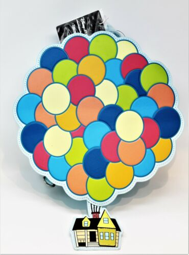 Disney Parks Pixar UP Movie Loungefly Mini Backpack House Balloons Box Lunch NEW