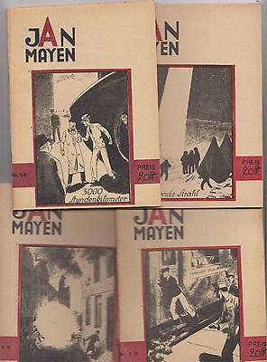 Jan Mayen 1 - 120 (0-1/1) Nachdruck fast komplett SF Phantastik Bergmann Leipzig