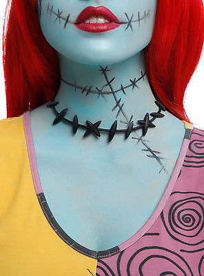 NEW! Nightmare Before Christmas Sally Stitches Choker Necklace Costume Cosplay