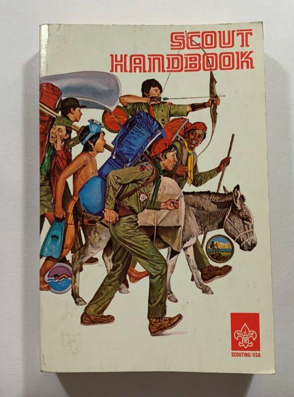 1977 (DECEMBER) OFFICIAL BOY SCOUT HANDBOOK ~ BOY SCOUTS OF AMERICA