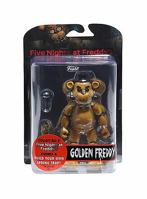 Fnaf Five Nights At Freddys Golden Freddy Articulated Action Figure New