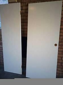 White doors Tumbi Umbi Wyong Area Preview