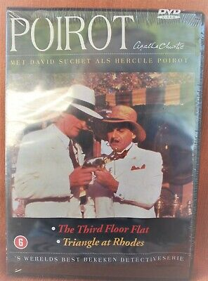 POIROT - THE THIRD FLOOR FLAT + TRIANGLE AT RHODES-  !!! NEW & SEALED DVD    !!!
