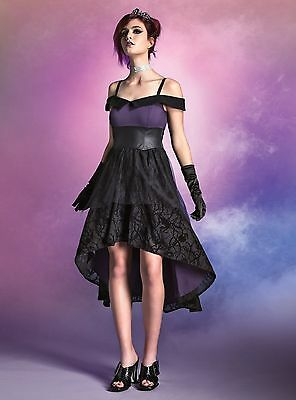 Maleficent Gown (Disney Villains Dress Gown Prom formal Maleficent Ursula NWT JUNIORS)